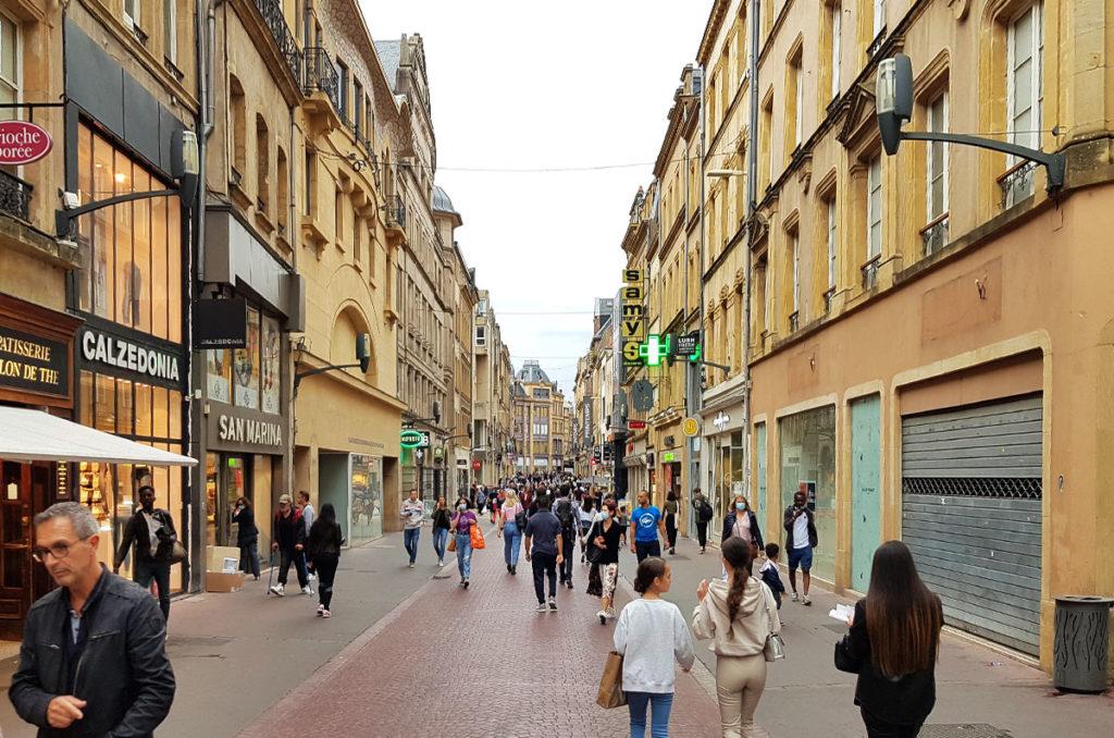 Städtereise Metz - die Altstadt