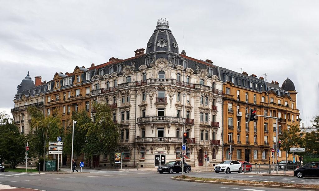 Städtereise Metz - Häusrezeile an der Avenue Joffre