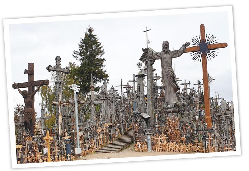 Reisen-und-Blog Litauen Beitragsbild Berg der Kreuze