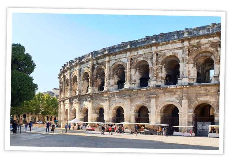 Reisen-und-Blog Frankreich Beitragsbild Nimes