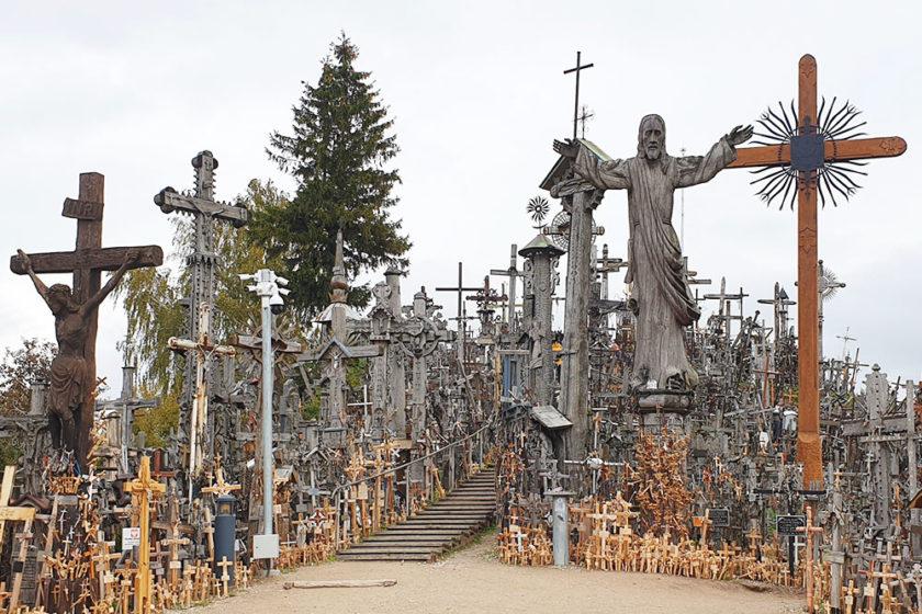 der Berg der Kreuze - Litauen