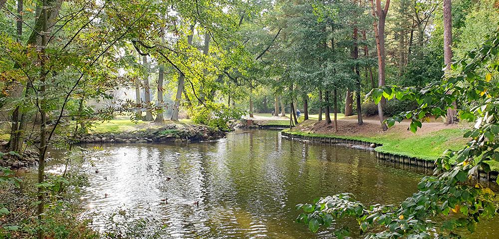 Birutė Park in Palanga
