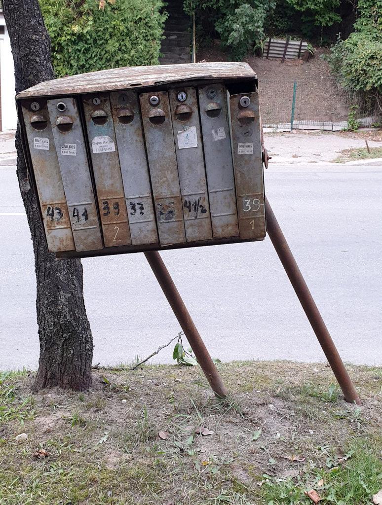 Briefkasten in Kaunas