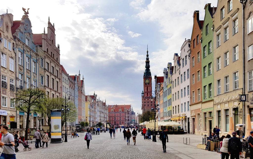 Städtereise Danzig - der Lange Markt