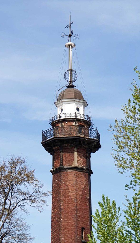 Städtereise Danzig - Der Leuchtturm am Nowy Port