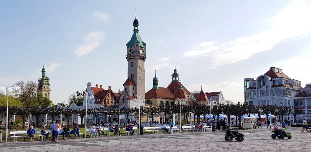 Städtetrip Danzig - der Seeplatz in Sopot