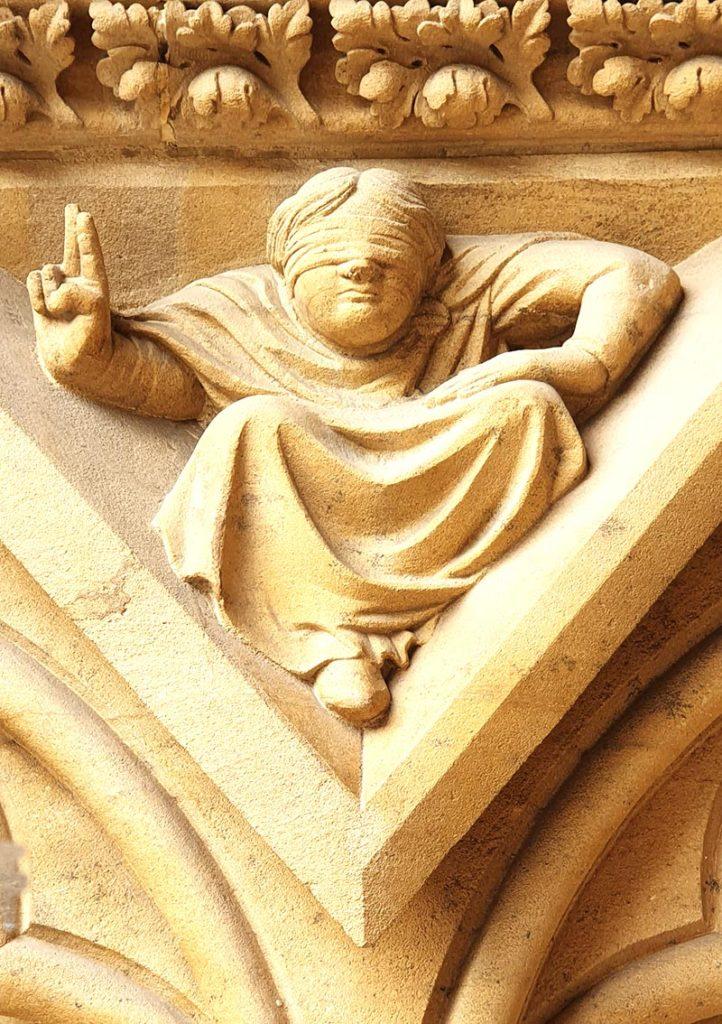 Detail an der Cathedrale de Metz