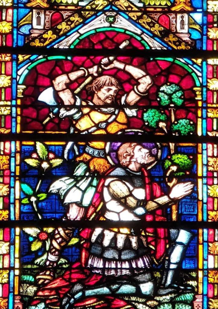 Glasmalerei in der Cathedrale de Metz
