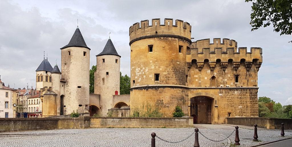 Porte des Allemands (Deutsches Tor) in Metz