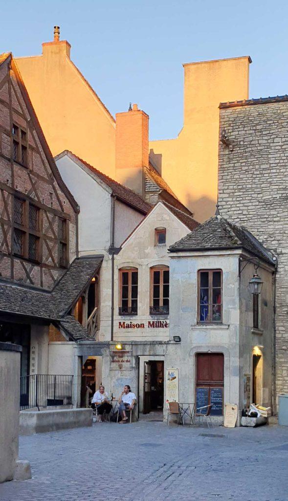 Häuser in der Altstadt von Dijon