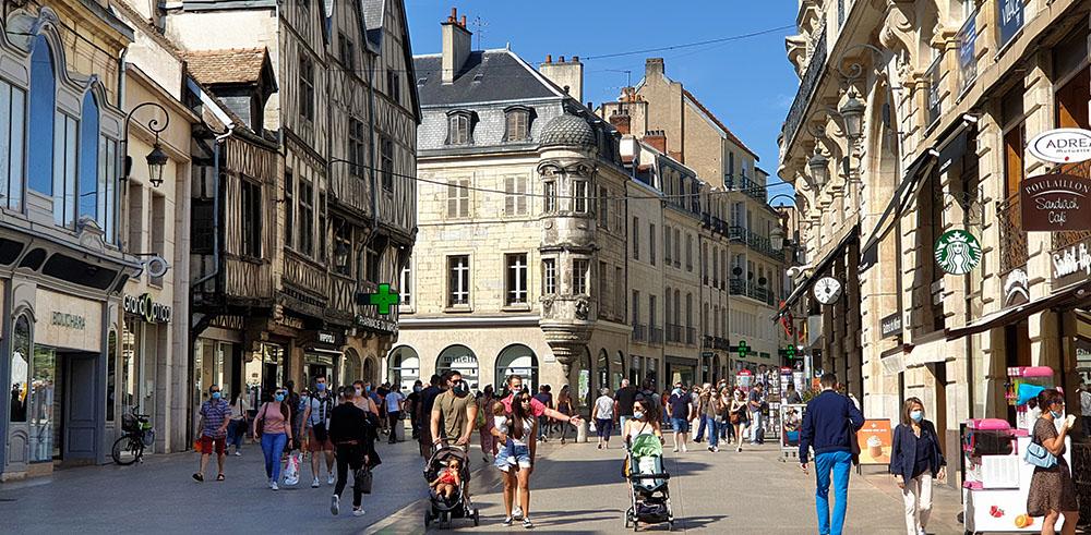 Shopping in Dijon