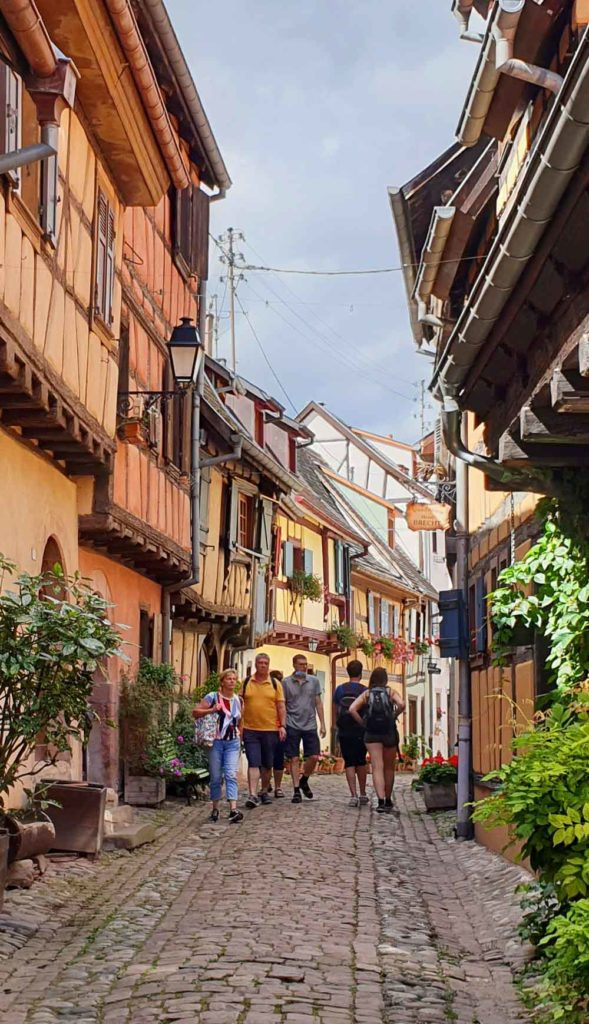 Stadtansicht Eguisheim