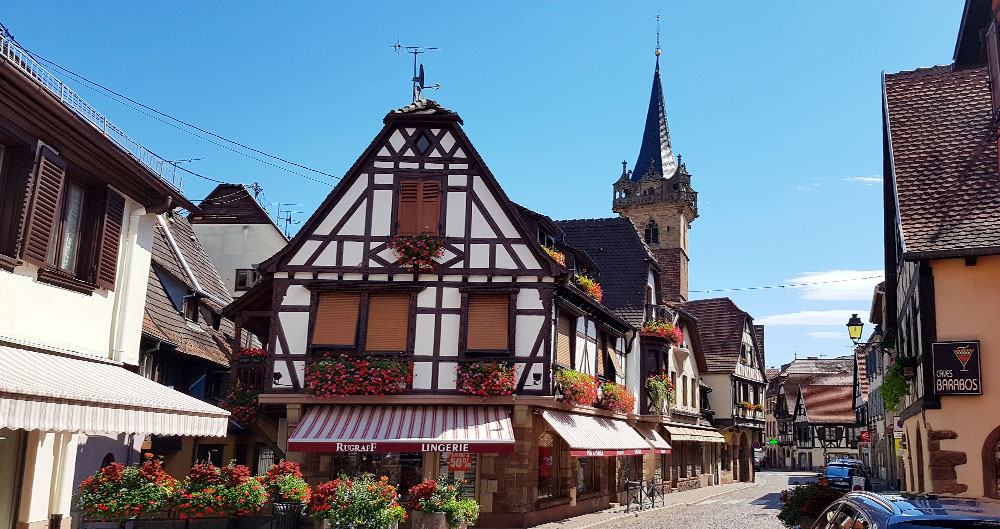 Der Kappelturm in Obernai