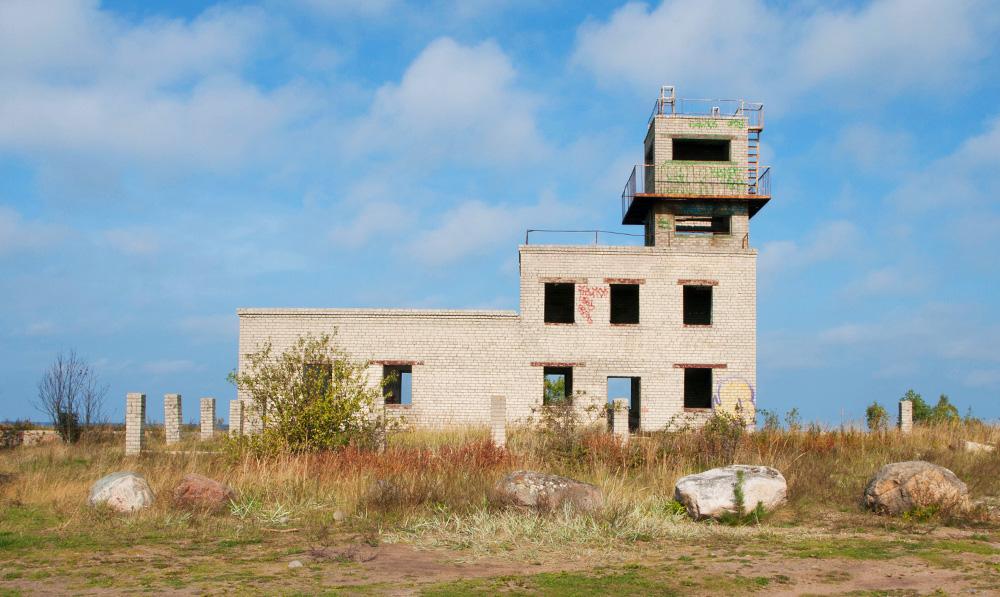 Grenzschutzgebäude in Pärispea