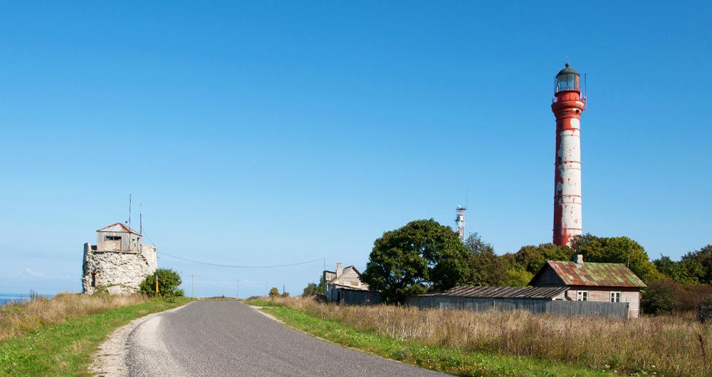 Estlands größster Leuchtturm - Paldiski