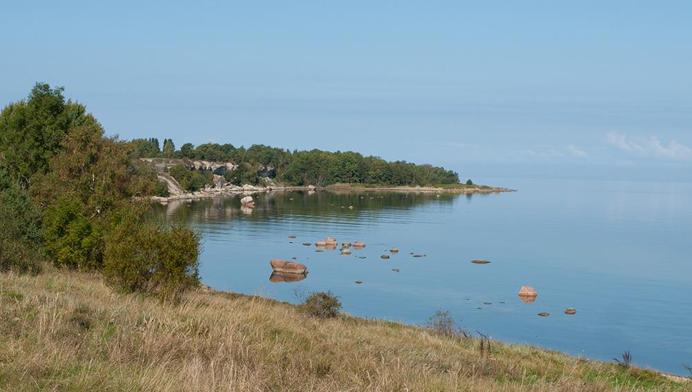 Ostseeküste auf der estnischen Halbinsel Pakri
