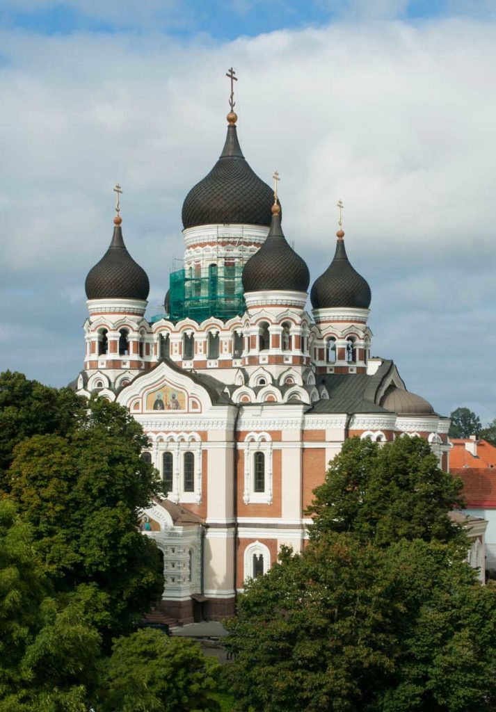Die Alexander-Newski-Kathedrale in Tallinn