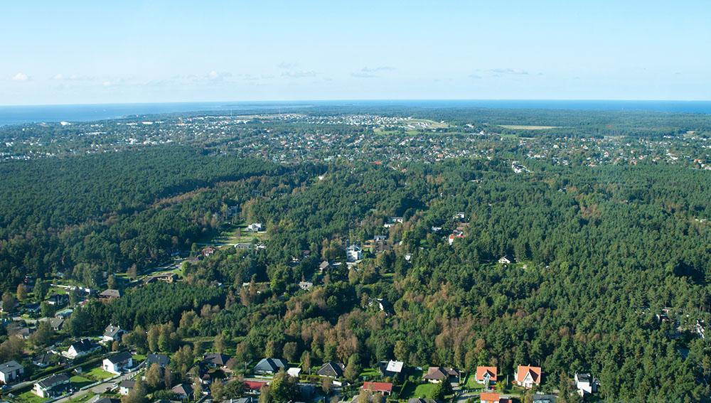 Blick vom Fernsehturm auf Tallinn