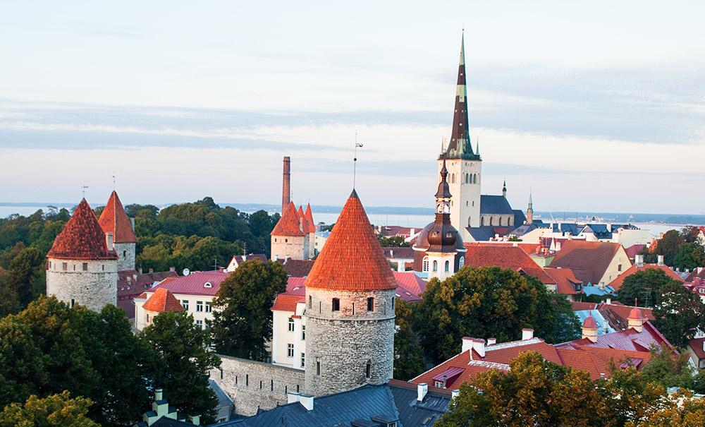 Blick von der Aussichtsplattform Patkuli in Tallinn