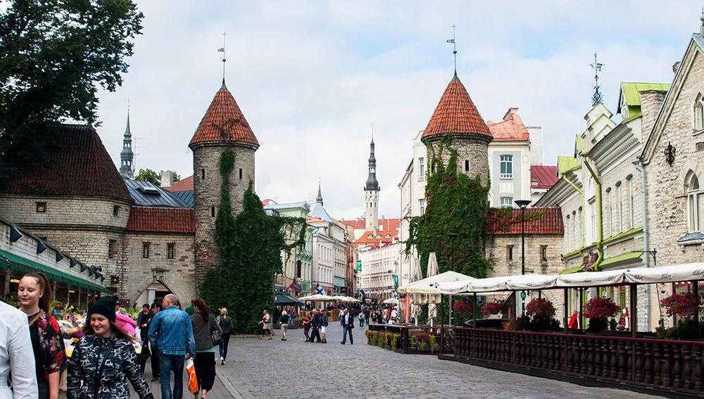 Stadttor Viru in Tallinn