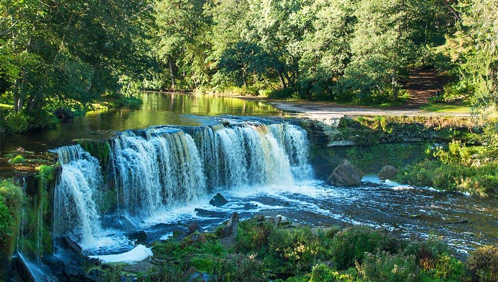 Keila Wasserfall in Estland