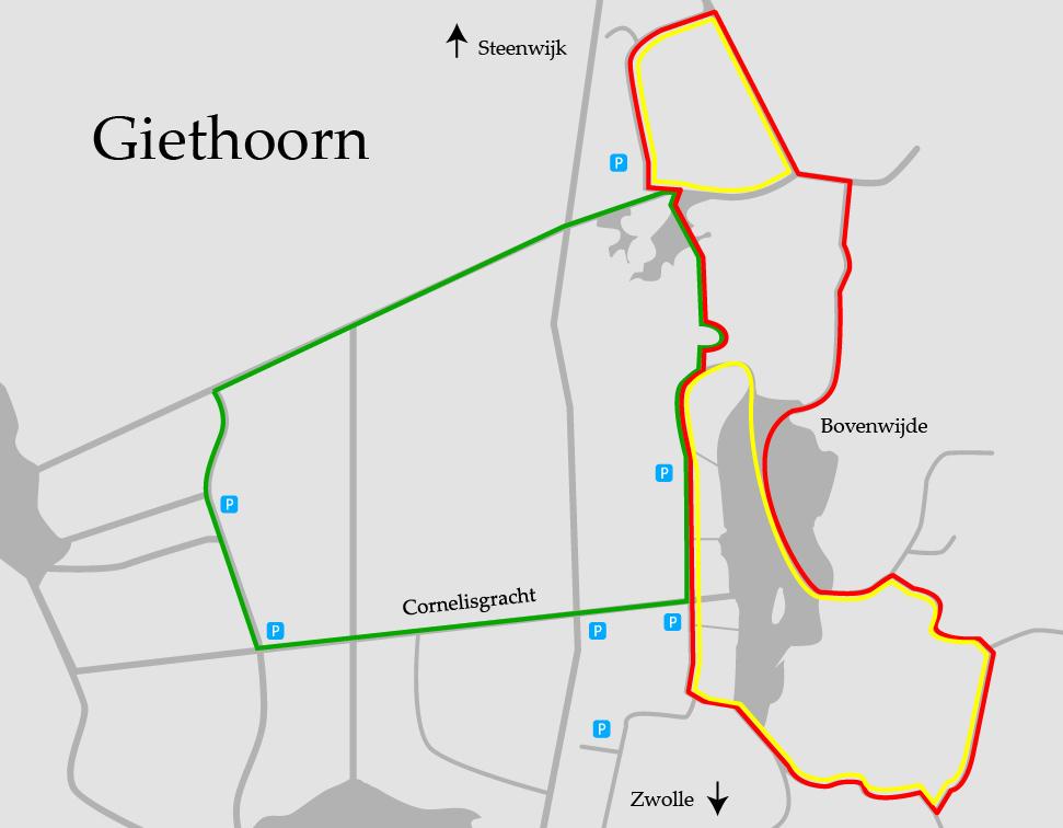 Bootstour durch Giethoorn - Holland - Niederlande - Bootsrouten
