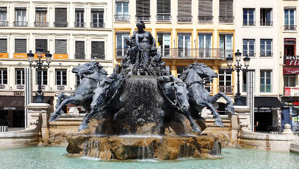 Fontaine Bartholdi in Lyon
