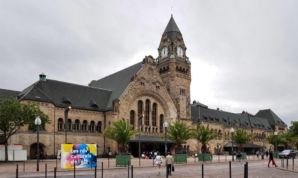 Der Hauptbahnhof in Metz