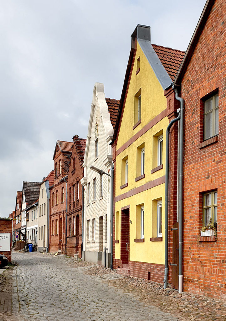 Weinbergstraße in Havelberg