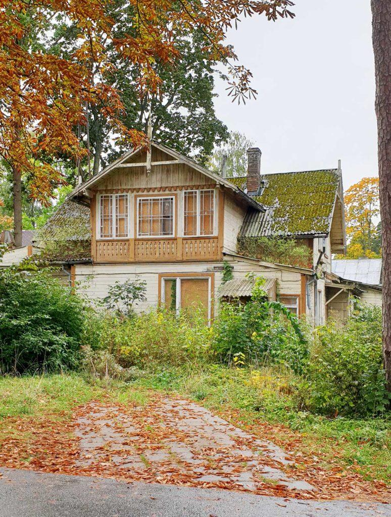 Holzhaus in Jurmala - Lettland