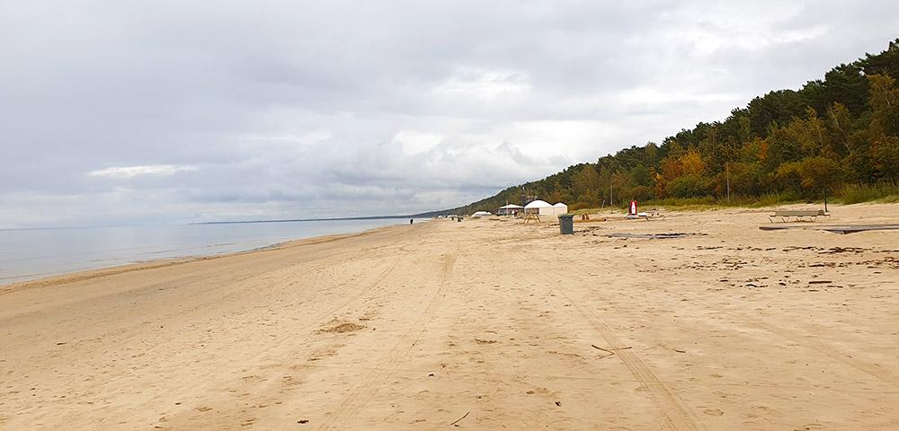 Ausflugsziele rund um Riga - der Strand Jurmala