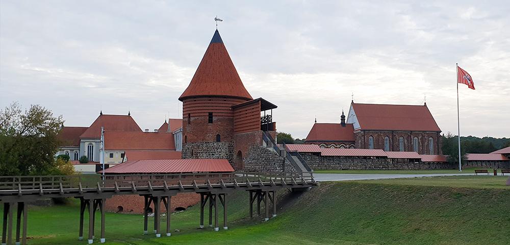 Rekonstruktion der Burg in Kaunas / Litauen
