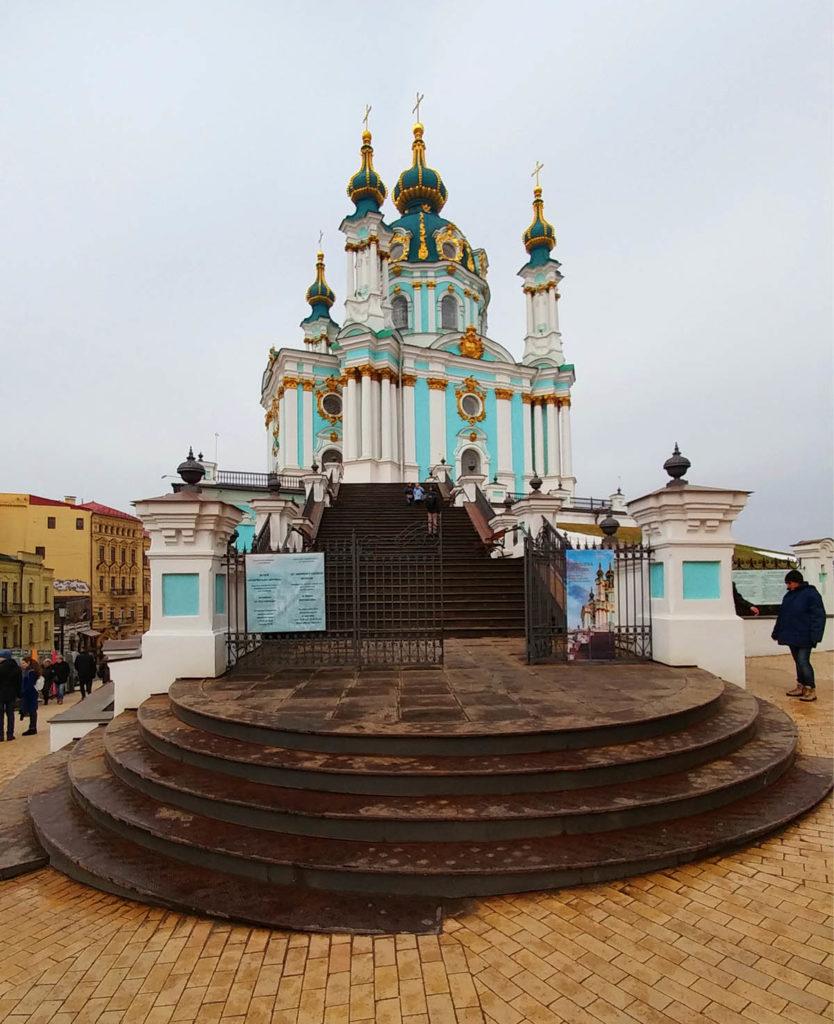St.-Andreas-Kirche in Kiew