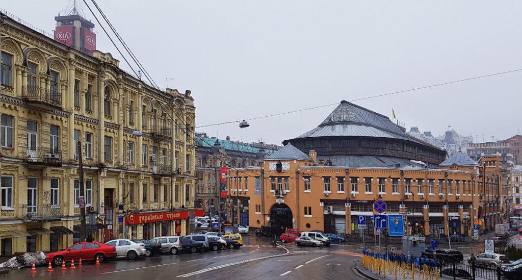 Bessarabska Markthalle - Kiew