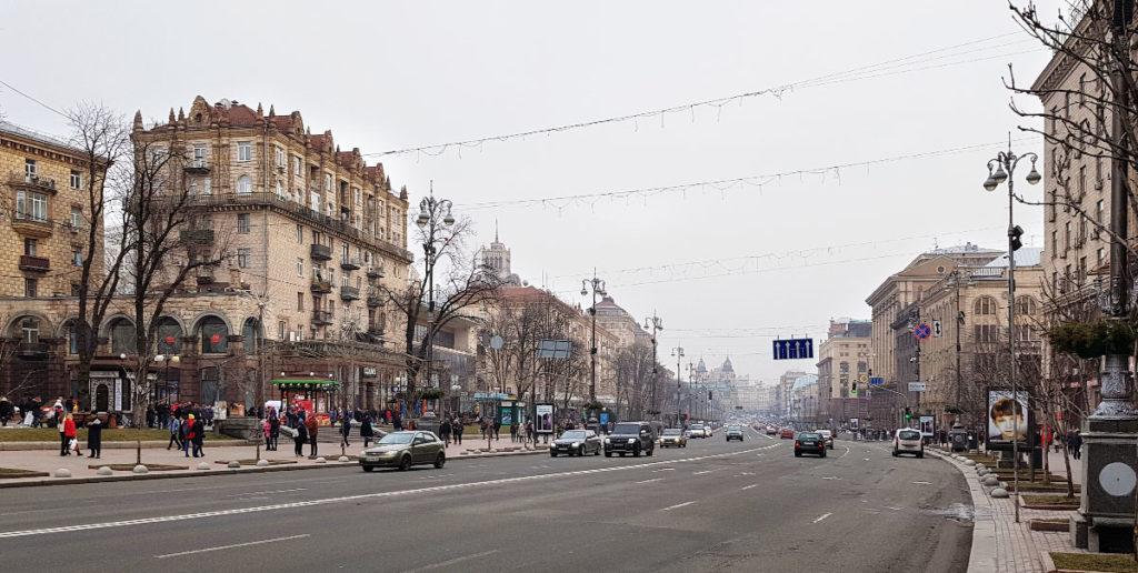 Chreschtschatyk in Kiew