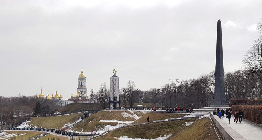 Park der Ewigen Herrlichkeit in Kiew