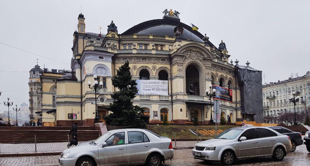Taras-Schewtschenko-Opernhaus in Kiew