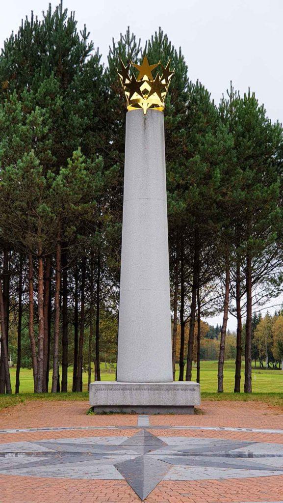 der Mittelpunkt Europas in Litauen