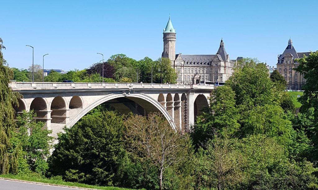 Städtereise Luxemburg Adolph-Brücke und Bankmuseum