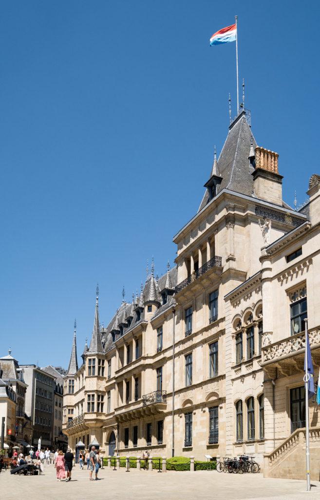 Städtereise Luxemburg - Der Großherzogliche Palast