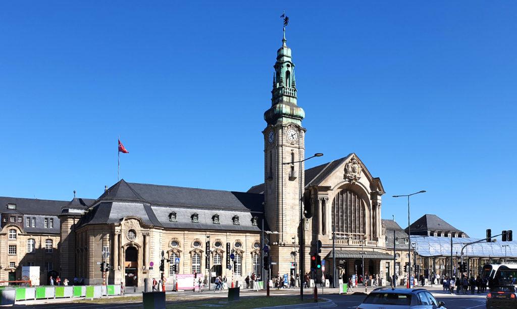 Städtetrip Luxemburg - Hauptbahnhof