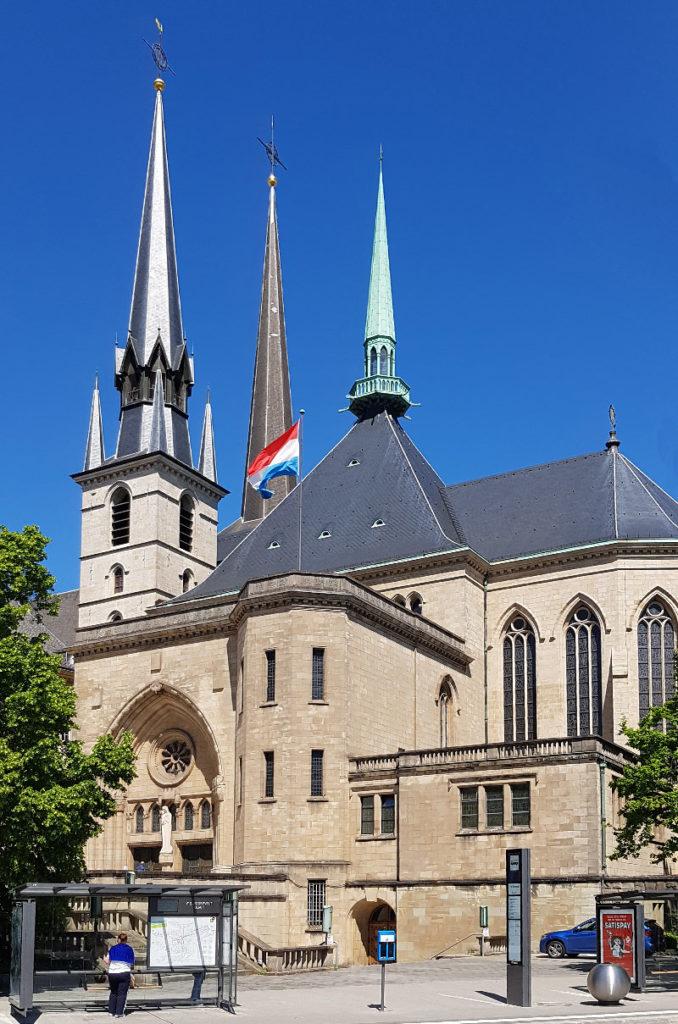 """Städtereise Luxemburg - die Kathedrale """"Notre Dame"""""""
