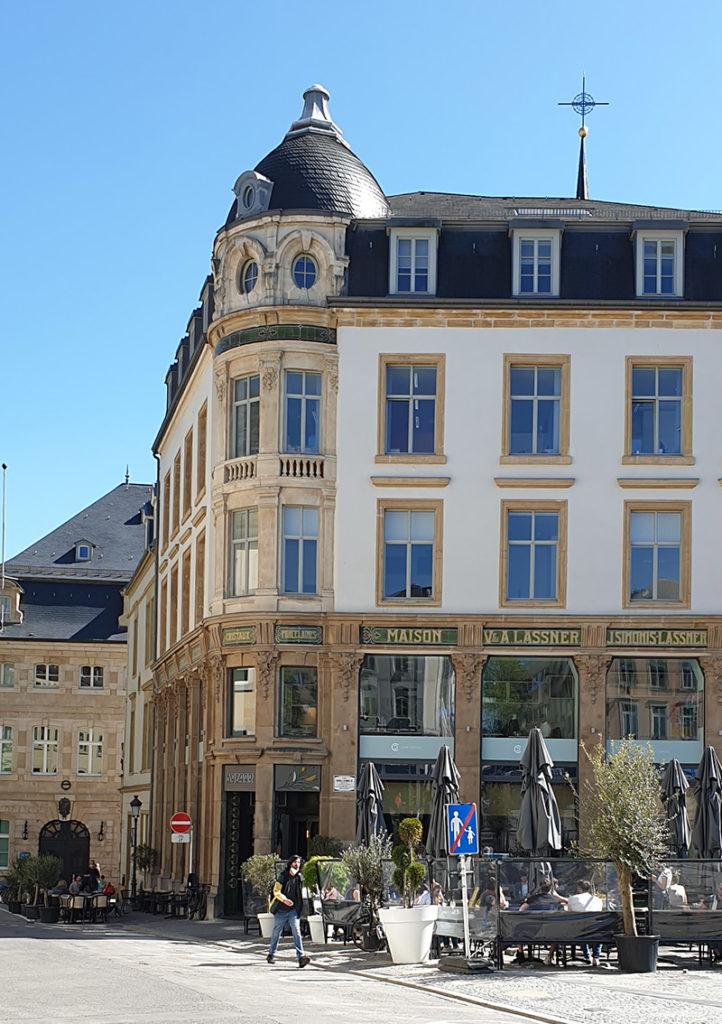 Städtetrip Luxemburg - schönes Gebäude in der Oberstadt