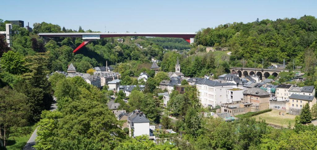 Städtetrip Luxemburg - pfaffenthal-grossherzogin-charlotte-brücke panoramaaufzug