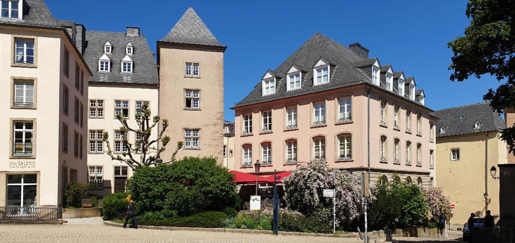 Städtereise Luxemburg - Place de Claire Fontaine