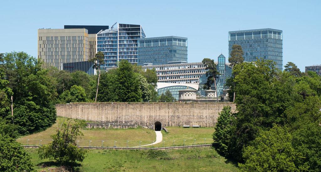 Städtereise Luxemburg - Fort Thüngen und das Kirchberg Plateau