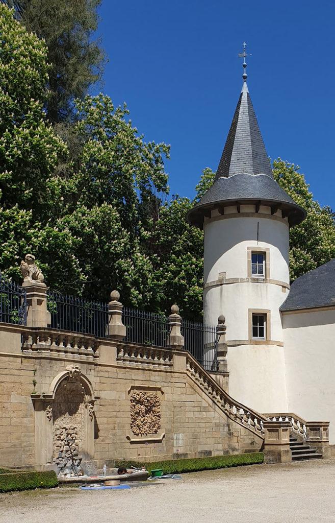 Luxemburg Schloss Ansembourg