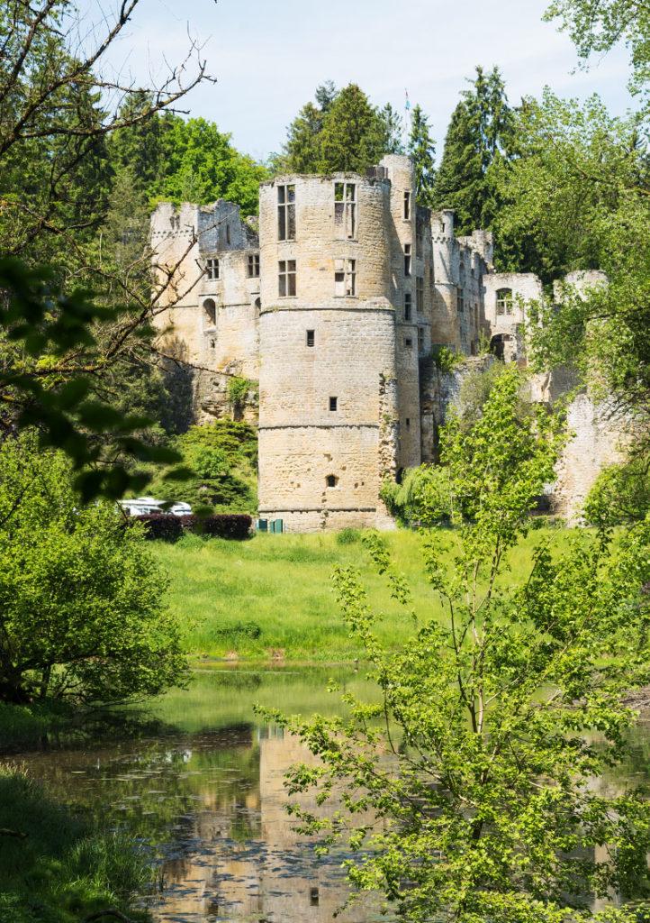Luxemburg Schloss Beaufort