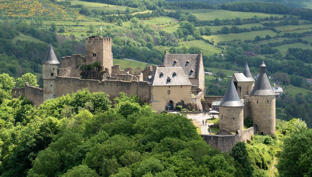 Luxemburg Schloss Bourscheid
