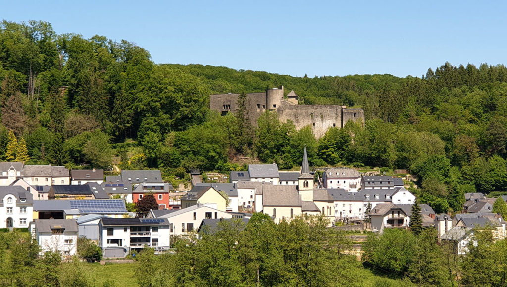 Luxemburg Schloss Simmern